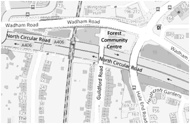 forest community centre map